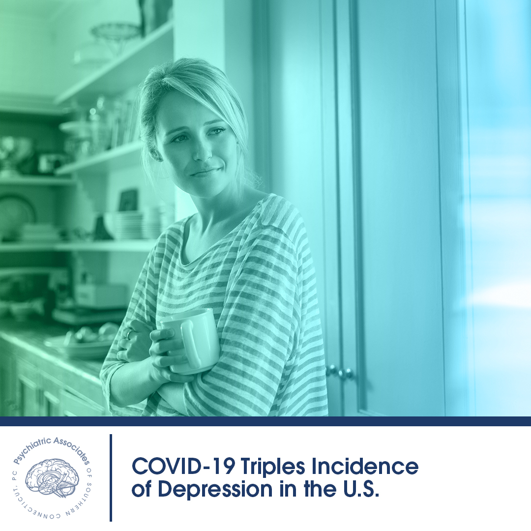 COVID-19 Triples Incidence of Depression in the U.S.